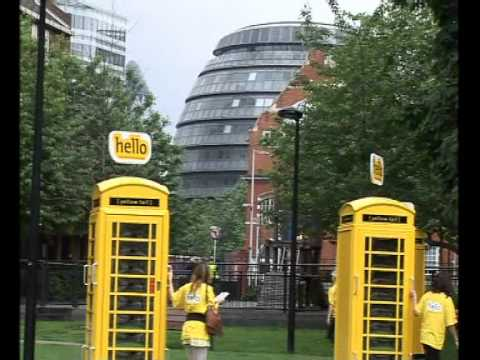 [yellow tail] Phone Boxes - UK