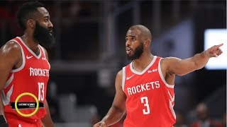 Chris Paul urged coaches to keep James Harden on bench longer - Tim MacMahon | Outside the Lines
