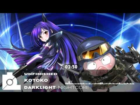 ★Nightcore - Unfinished 【Kotoko】