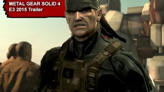 Metal Gear Solid 4 Guns of the Patriots - Elegia E3 2015 trailer