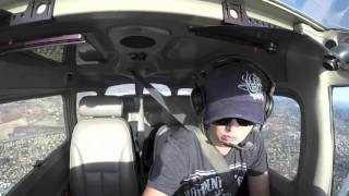 Cessna Approach to KOKB (Oceanside) Switching Frequencies & Talking to the Skydive Plane