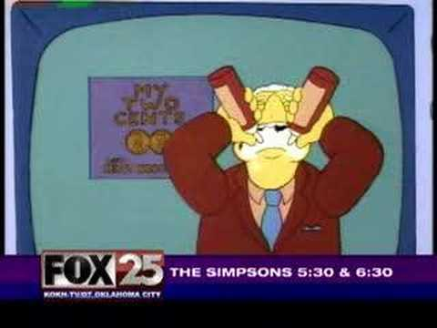 Kent Brockman: Hungry for News Video