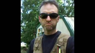 Hiking the molle 2 FLC vest