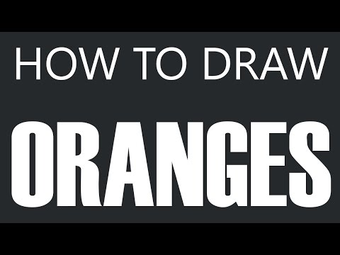 Orange Juice Drawing How to Draw an Orange Fruit