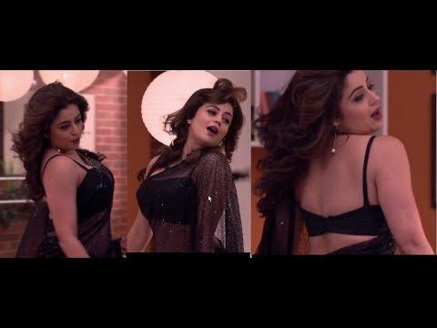 Neha Pendse Hot Sensual Dance Navel Show in Transparent Saree #1   Nov 2017 thumbnail