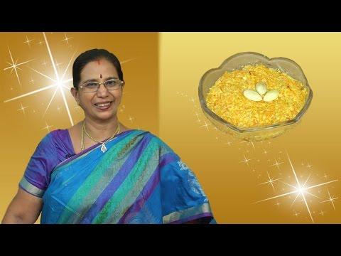 Badam Carrot Halwa in Tamil | Mallika Badrinath Recipes | Deepavali Sweets
