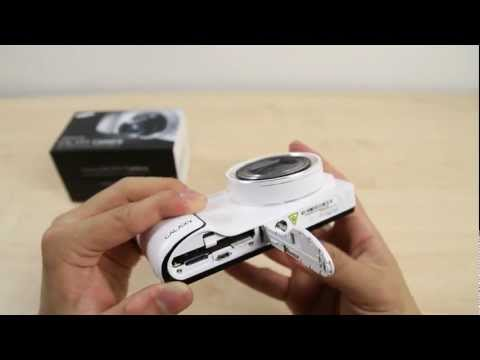 How to Insert the micro SIM card on Samsung Galaxy Camera