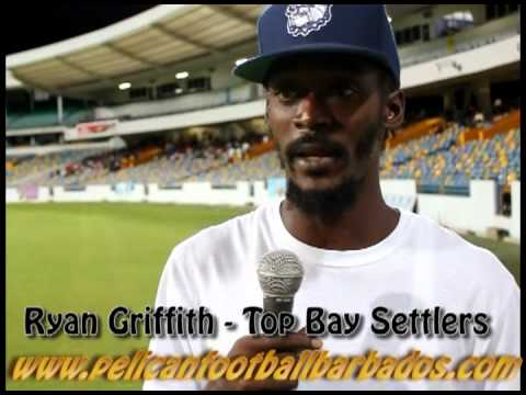 Ryan Griffith - Barbados Light and Power Player Of The Week from the Top Bay Settlers