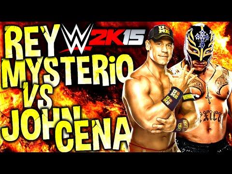 Ps4: Wwe 2k15 | Rey Mysterio Vs John Cena video