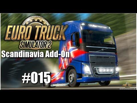 Euro Truck Simulator 2: Scandinavia Add-On #015 - Da macht der Truck nen Wheely