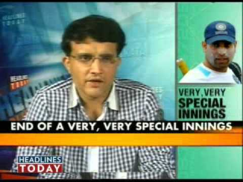 Sourav Ganguly Slams Selectors For Vvs Laxman's Retirement - Part 5 Of 6 video
