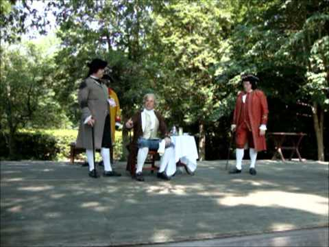 Who Stole the Gunpowder? Colonial Williamsburg - Reenactors Episode -- Part 1