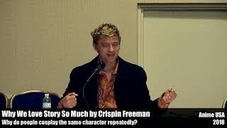 Cosplaying the same character - Crispin Freeman talks story at Anime USA 2018
