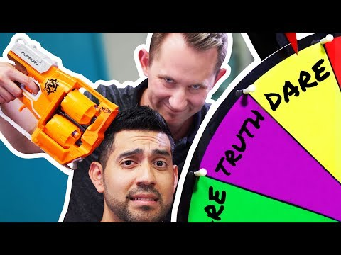 NERF Roulette: Truth or Dare!