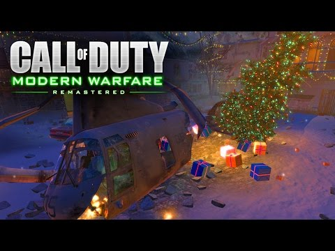 Christmas In MODERN WARFARE REMASTERED!? - Will We Be Getting Winter Crash for COD MWR?