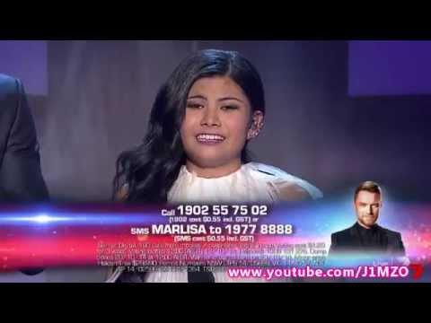 Marlisa Punzalan - Week 10 - Live Show 10 - The X Factor Australia 2014 Top 4 (Song 2 of 2)