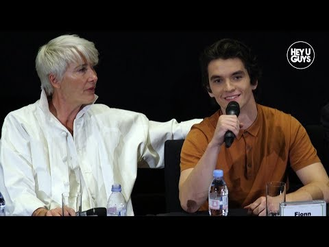 Fionn Whitehead & Emma Thompson - The Children Act Press Conference