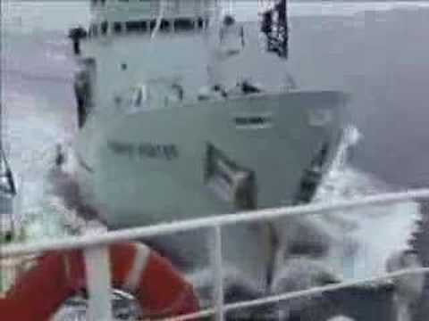 Sea Shepherd Attacks Japanese Whaling fleet.  Feb 12, 2007