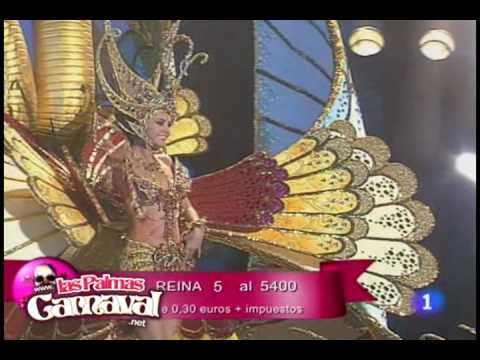 1ª Dama de Honor del Carnaval de Las Palmas de Gran Canaria 2009