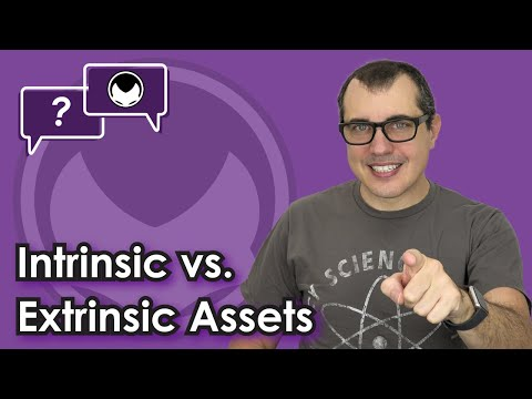 Bitcoin Q&A: Intrinsic vs. extrinsic assets