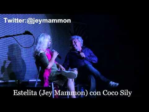 Estelita (Jey Mammon) con Coco Sily