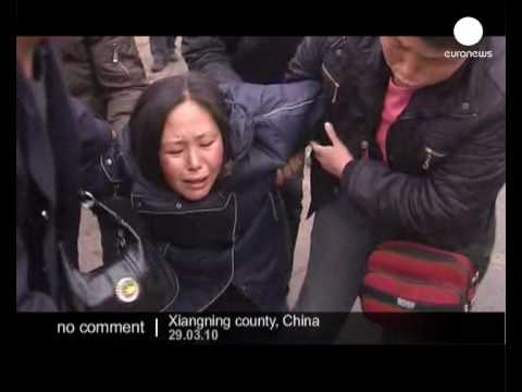 Rescue operation in Chinese coal mine