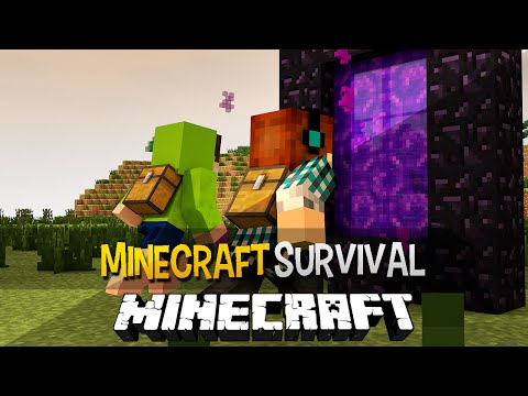 Minecraft Survival Ep.105 Nova Aventura em um Mundo de Cristais