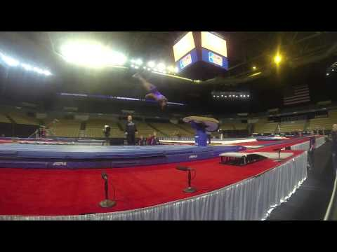 Simone Biles Slow Motion Amanar
