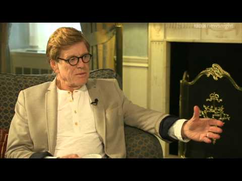 NEWSNIGHT: Redford on