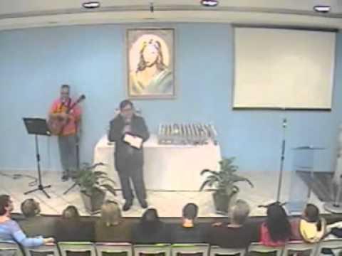 Palestra- Grupo Espírita Esperança - DE LUCCA -ORAÇÃO DE SÃO FRANCISCO-04/06/14