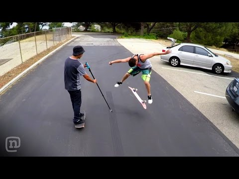 The Right Way to Shoot w/ GoPro: Film Skateboarding with NKA