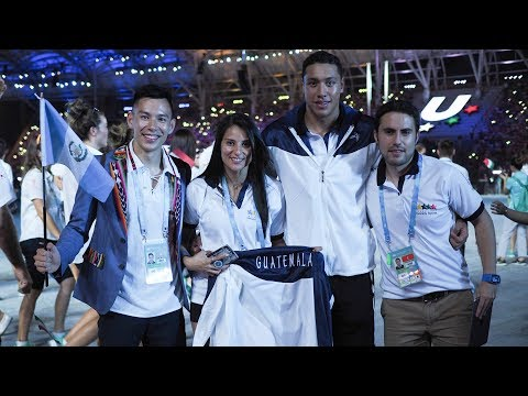 Guatemalan Athletes At Universiade Taipei 2017 Part Ii