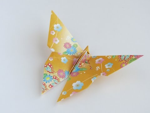 origami butterfly instructions step by step