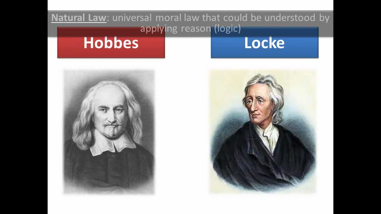 compare and contrast the philosophies of john locke thomas hobbes and karl marx
