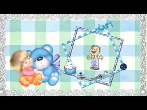 Музыкальные открытки с новорождённым 2