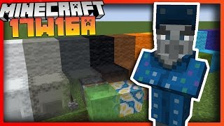 Everything added in Minecraft Update 17w16a - New Illusion Mob, Better commands & more!