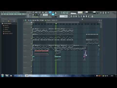 Armada Asal Kau Bahagia(no vocal)-FL Studio
