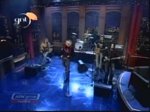 Daniel Damico - David Letterman w/ The Calling