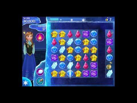 Disney Frozen Free Fall Level 58