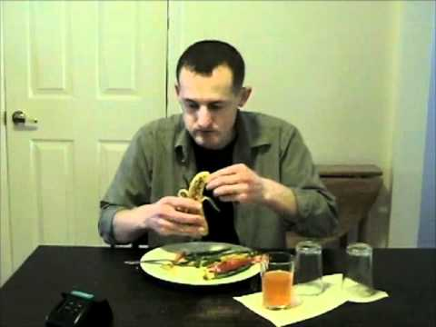 Air Force Basic Training: The 3 Minute Meal