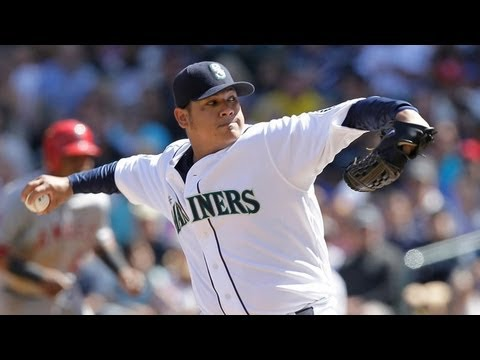 Mariners' Felix Hernandez agrees to $175-million contract extension