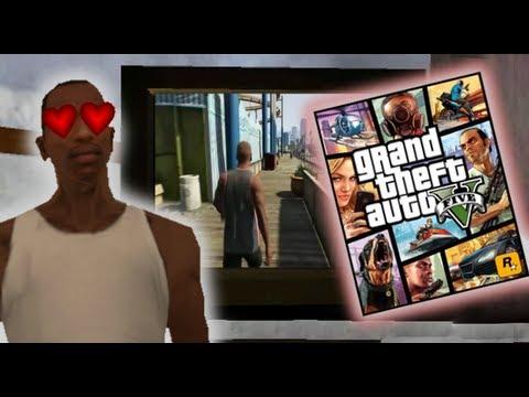 CJ JUEGA AL GTA 5- Gta San Andreas Loquendo