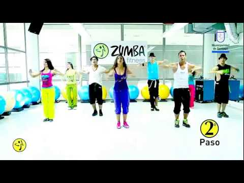 Zumba Flash Mob 'sube Las Manos Pa`arriba' video