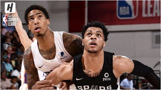 San Antonio Spurs vs Phoenix Suns - Full Game Highlights | July 10, 2019 NBA Summer League