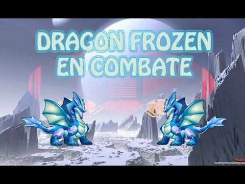 DRAGON FROZEN - MIS BATALLAS LV 40 - Dragon City