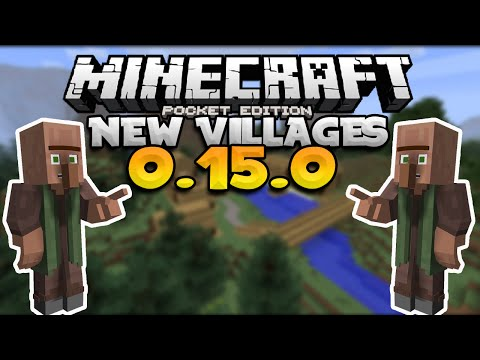 MCPE 0.15.0 NEW Villages & Polar Bears CONFIRMED! - Update News - Minecraft PE (Pocket Edition)