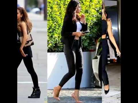 Selena gomez vs Ariana Grande street style thumbnail
