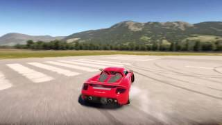 Forza Horizon 2 - Porsche Carrera GT drag/drift (stock)