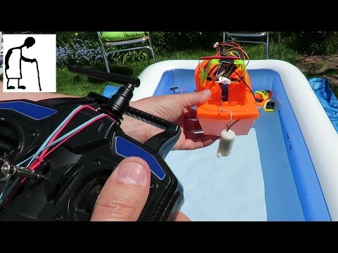 Sunny Day Paddling Pool Grandad's Boats #5 RC Water Jet Boat