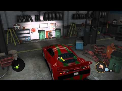 Saints Row: The Third - Customizing unmoddable cars (Turn on Annotations)